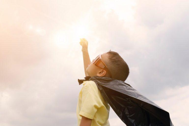 Enfant superhéros